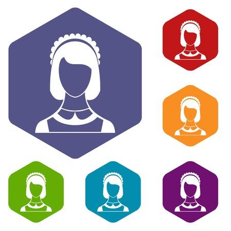 Maid-Icons Set