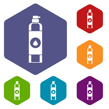freshener: Air freshener icons set