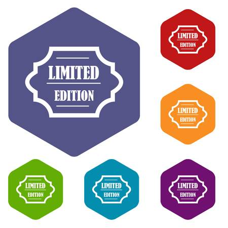 limited edition: Limited edition icons set