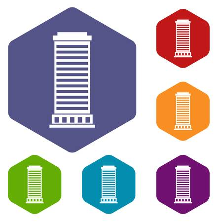 doric: Column icons set