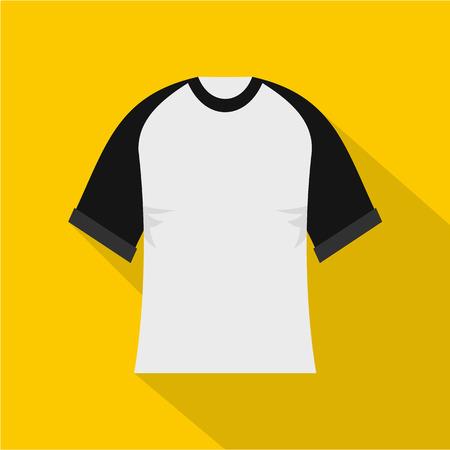 Baseball shirt icon, flat style