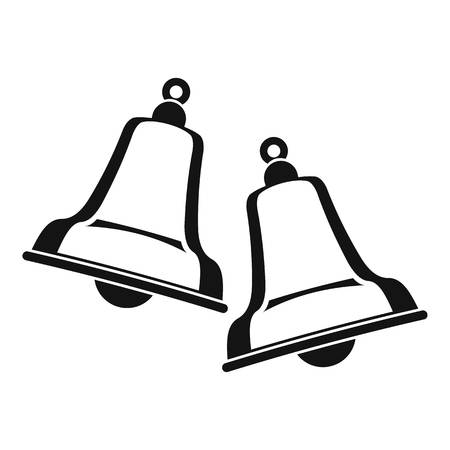reflectance: Bells icon , simple style