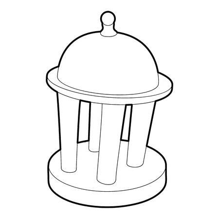 rotunda: Rotunda icon, outline style