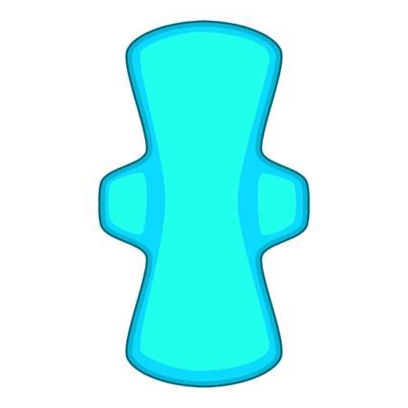 Sanitary pad icon. Cartoon illustration of sanitary pad vector icon for web