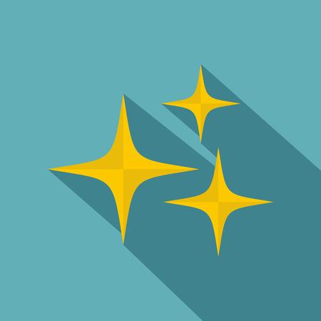 Stars icon, flat style