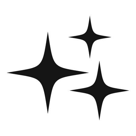 Stars icon, simple style