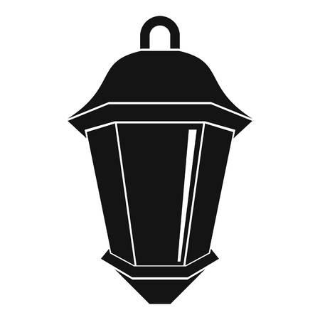 street light: Street light icon, simple style Illustration