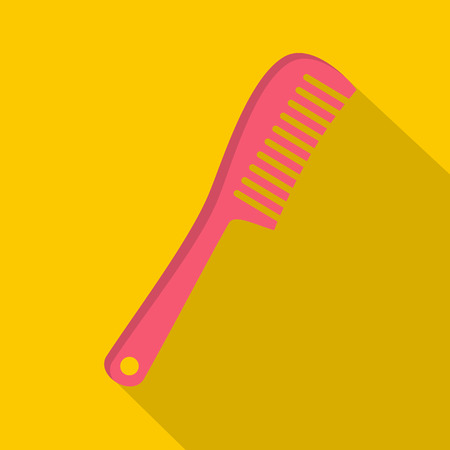 comb: Comb icon, flat style