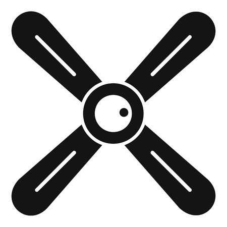 Propeller icon, simple style