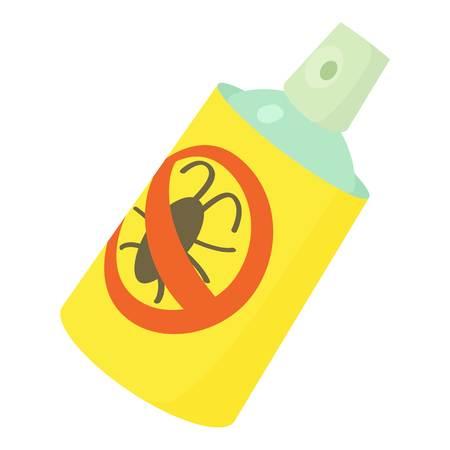pulverizer: Insecticide spray icon, cartoon style