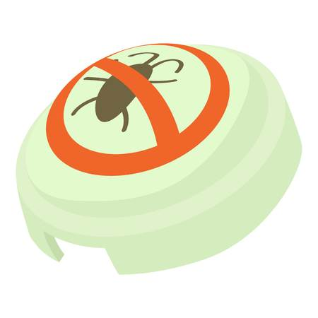 Fumigator icon, cartoon style