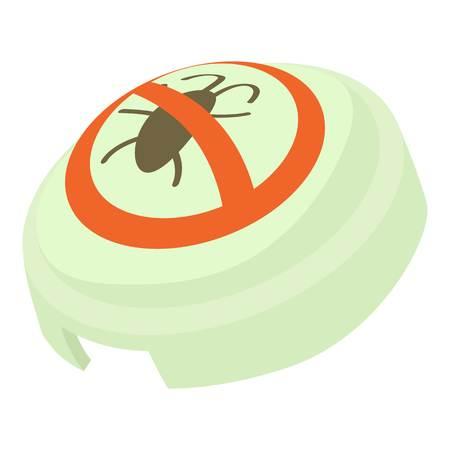 fumigador: Fumigator icono, estilo de dibujos animados