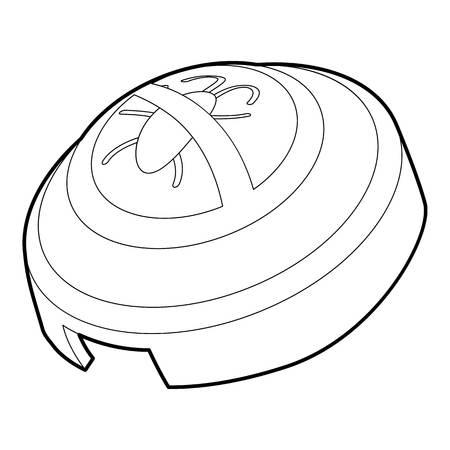 fumigador: Fumigator icono, el estilo de contorno Vectores