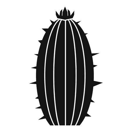 Mammillaria bocasana icon, simple style