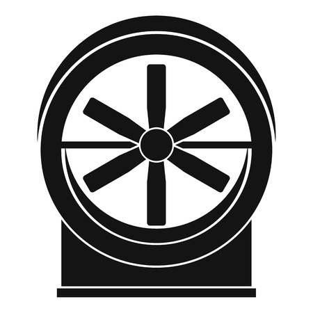 Fan icon, simple style