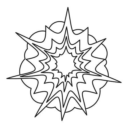 icône Spica, style de contour