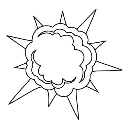 Spica icon, outline style