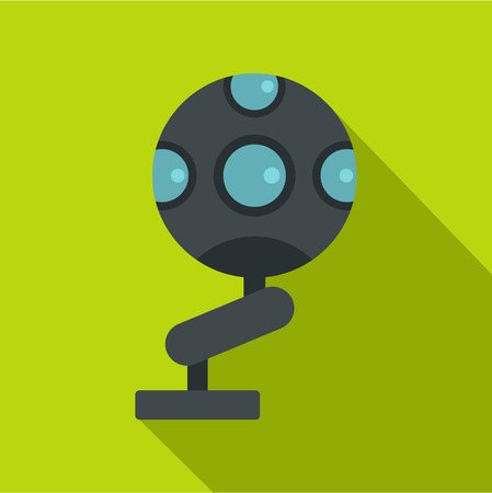 Game device icon, flat style