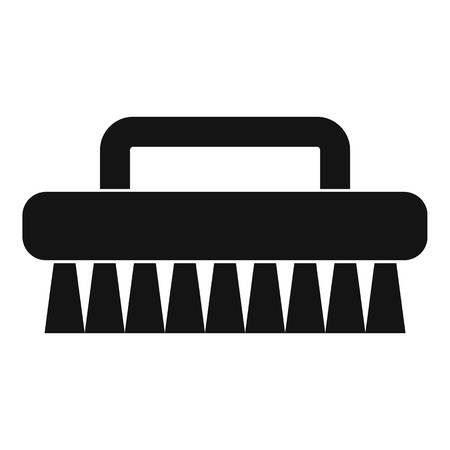 scour: Cleaning brush icon, simple style