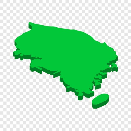Map Of Singapore Isometric Icon D On A Transparent Background - Us map transparent background
