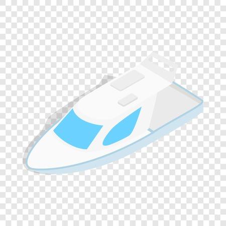 speed: Speed boat isometric icon