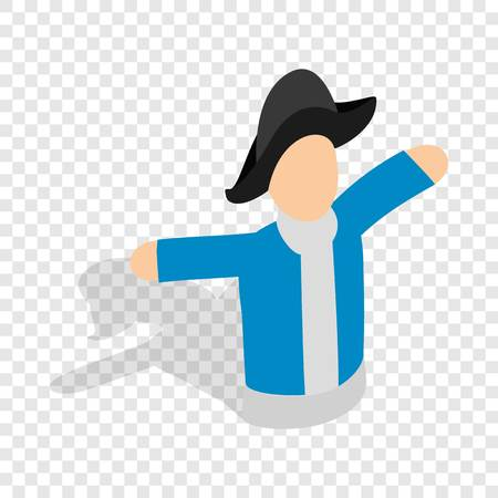 glove puppet: Hand puppet isometric icon Illustration
