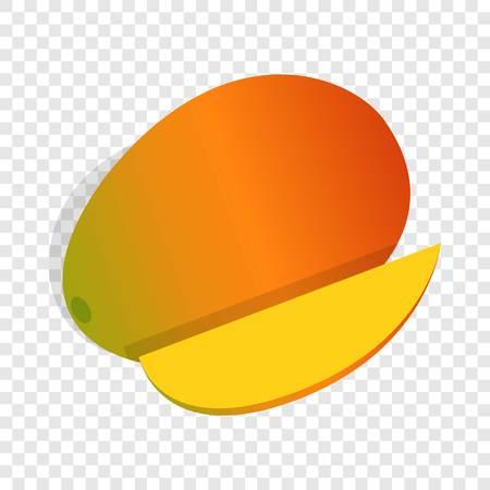 Mango fruit isometric icon
