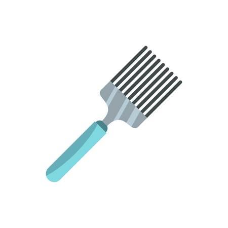 heatproof: Kitchen spatula icon, flat style