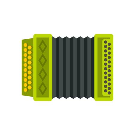 Accordion icon, flat style