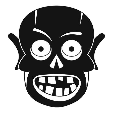 cruel: Living dead icon, simple style