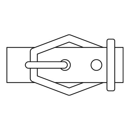 waistband: Belt icon, outline style