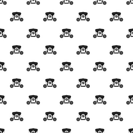 brougham: Brougham pattern seamless in simple style vector illustration Illustration