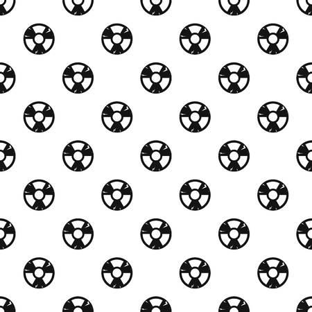Radiación signo vector patrón Ilustración de vector