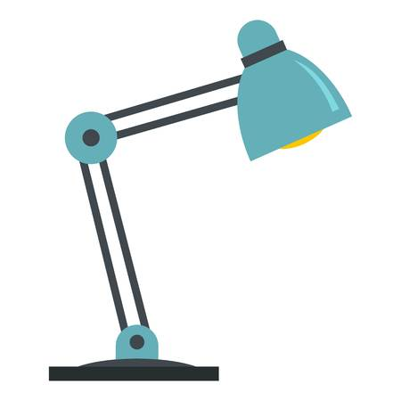 office furniture: Table lamp icon isolated Illustration
