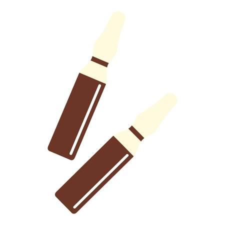 iodine: Iodine sticks icon isolated