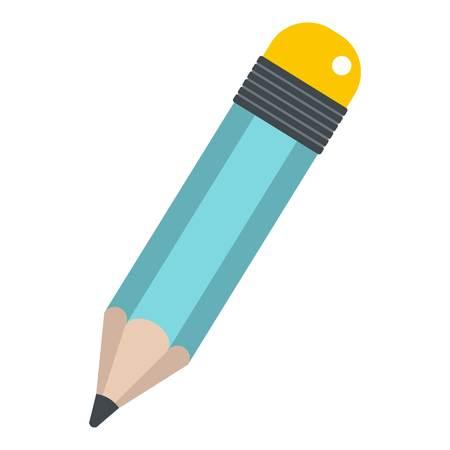 Pencil icon isolated Illustration