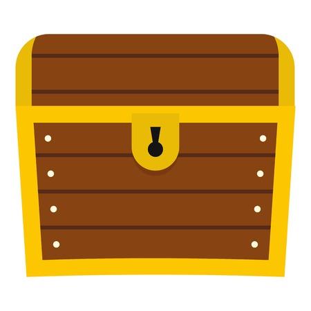 Chest icon isolated Ilustração