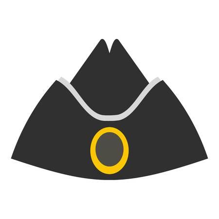 Forage cap icon isolated