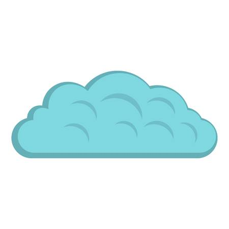 Autumn cloud icon isolated