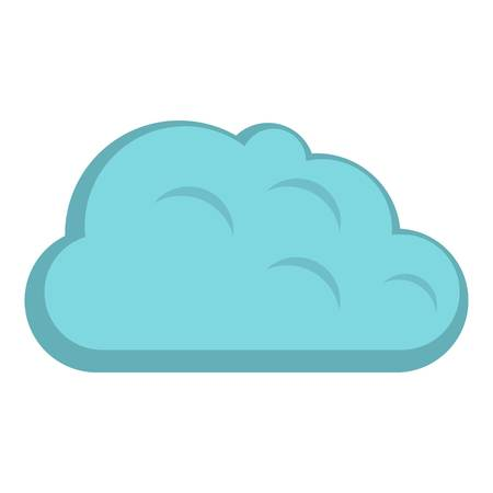 storm cloud: Storm cloud icon isolated