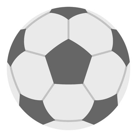 soccer field: Soccer ball icon isolated