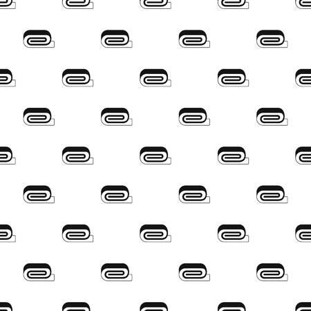 pampering: Spa towel pattern vector Illustration