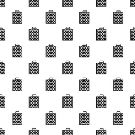 comb: Honeycomb pattern seamless in simple style vector illustration. Illustration