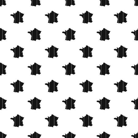corsica: France pattern seamless in simple style vector illustration Illustration