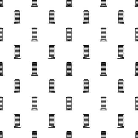 doric: Column pattern seamless in simple style vector illustration Illustration