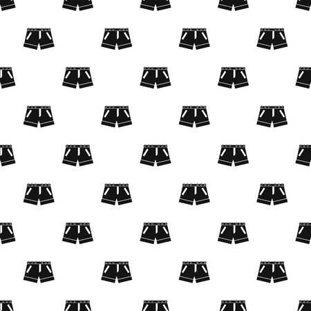 fashionably: Shorts pattern seamless in simple style vector illustration