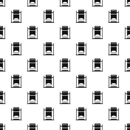 trashcan: Swinging trashcan pattern vector