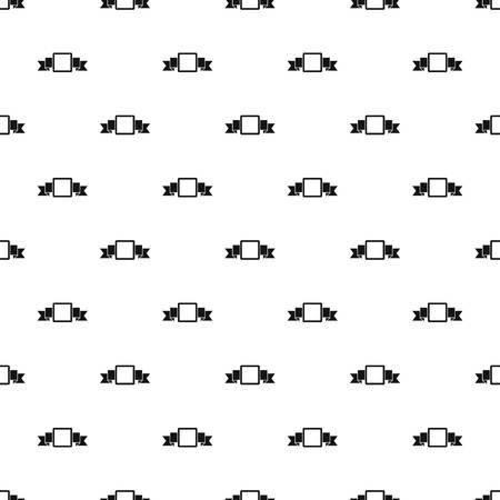 Kleine vierkante banner patroon vector Stockfoto - 76603827