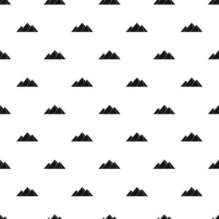 menkaure: Pyramids in Giza pattern vector