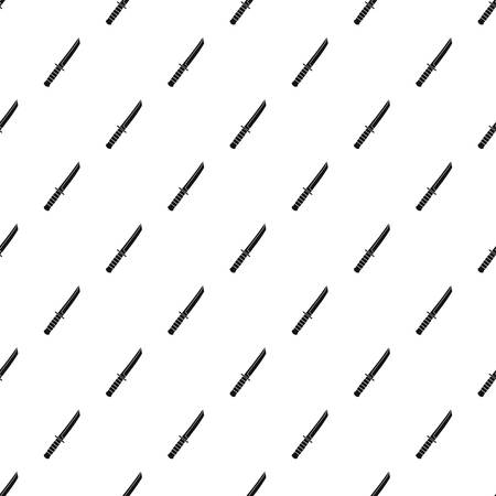 iron: Little knife pattern seamless in simple style vector illustration